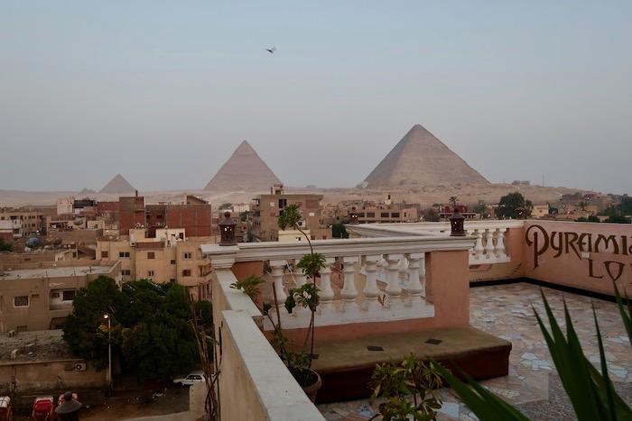 Cazare Giza vedere piramide camere 17