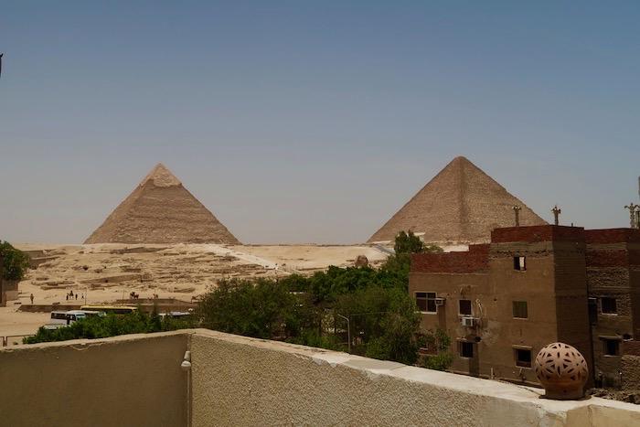 Cazare Giza vedere piramide camere 12
