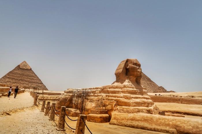 sfinxul giza piramide singur 2