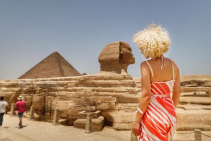 sfinxul giza piramide singur 4