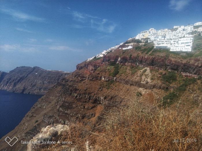 Skaros Santorini traseu 10