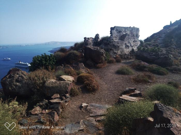 Skaros Santorini traseu 4