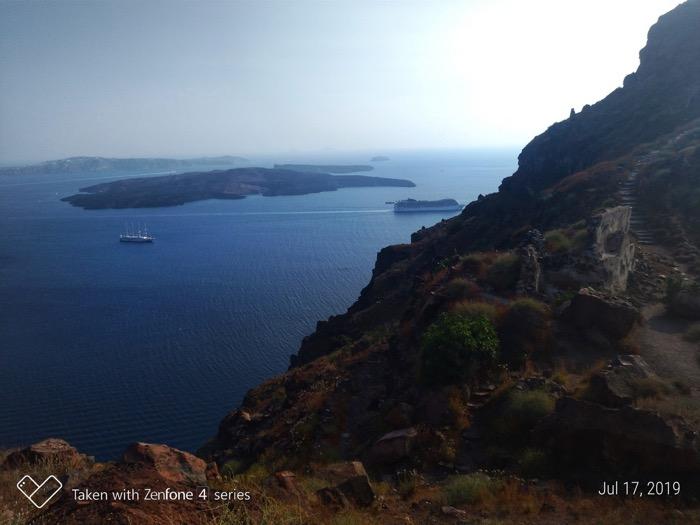 Skaros Santorini traseu 3