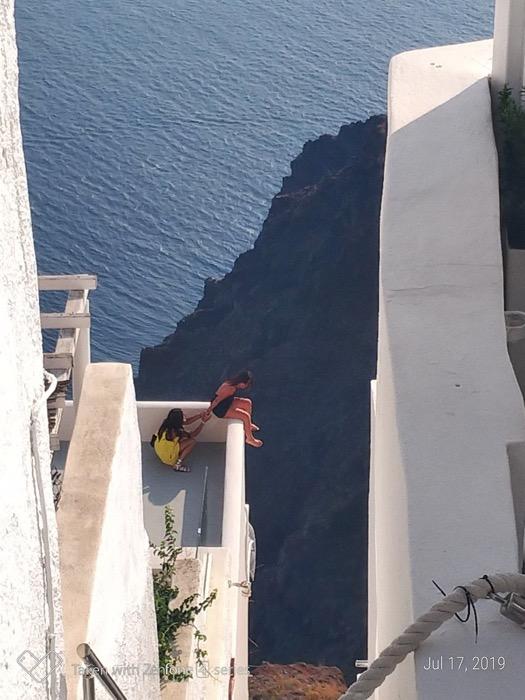 Skaros Santorini traseu 1