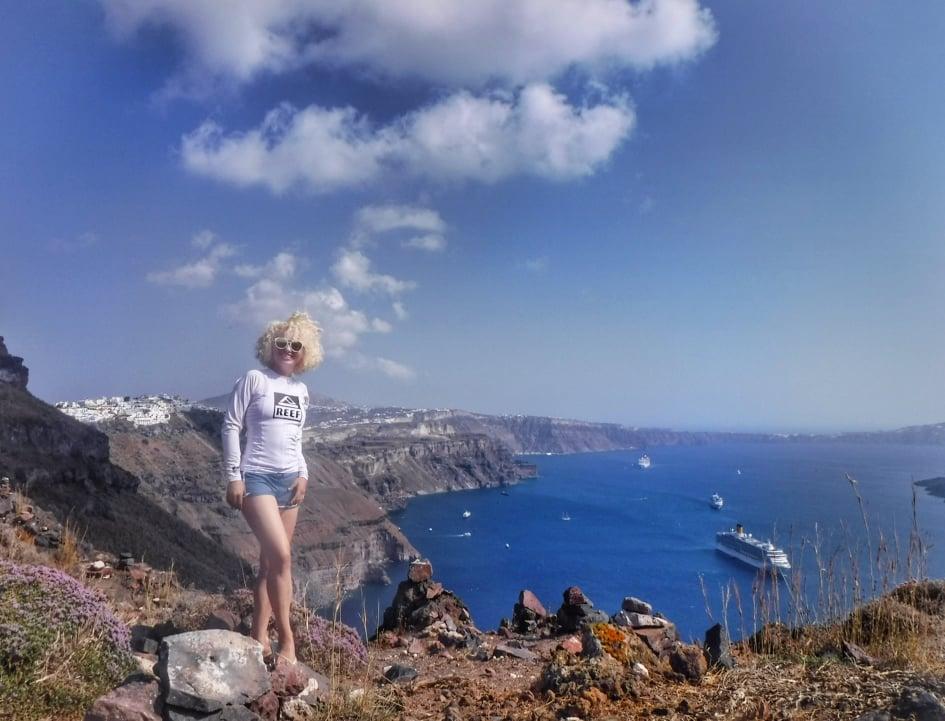 Skaros Santorini 1