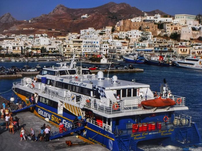 Feribot Santorini