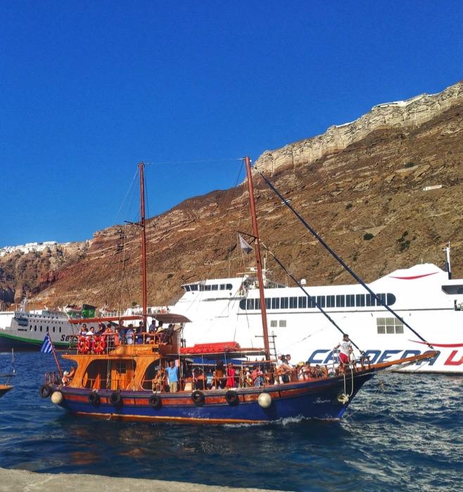 Top atractii turistice Santorini 1