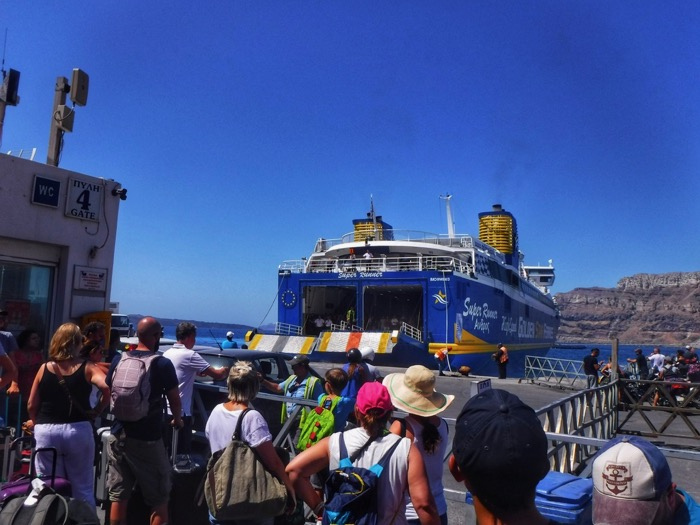 Feribot Santorini 2