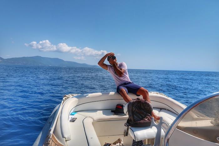Skiathos barca inchiriata excursie 6