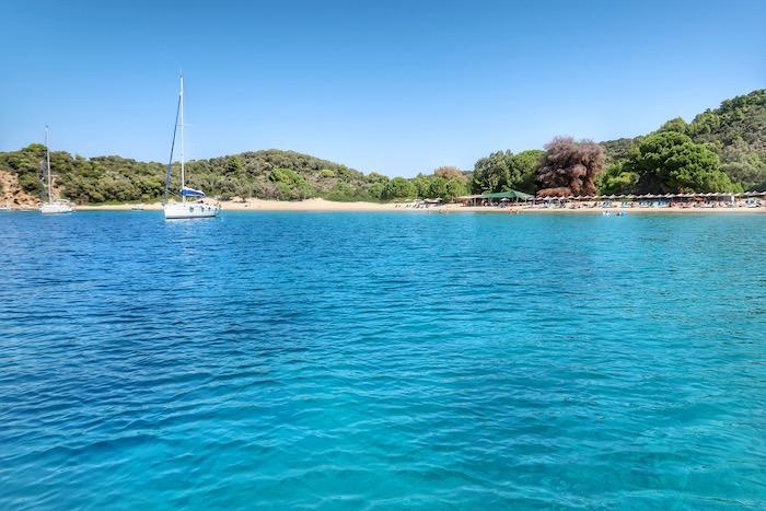 Skiathos barca inchiriata excursie 11