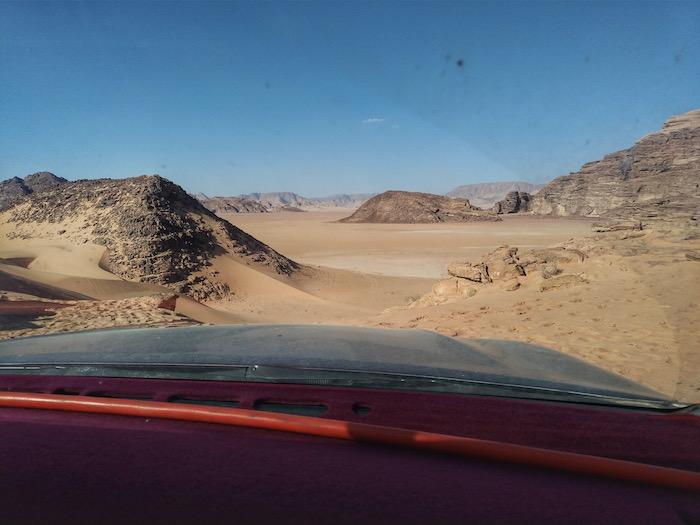 wadi rum plimbare jeep
