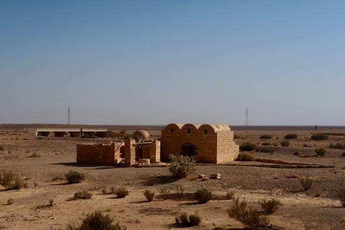 Qasr Amra Castelele desertului 8