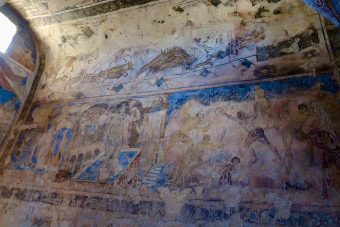 Qasr Amra Castelele desertului 7