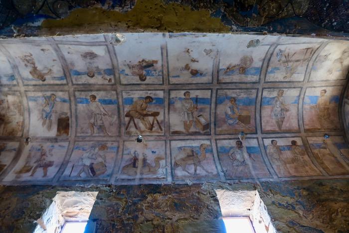 Qasr Amra Castelele desertului 6