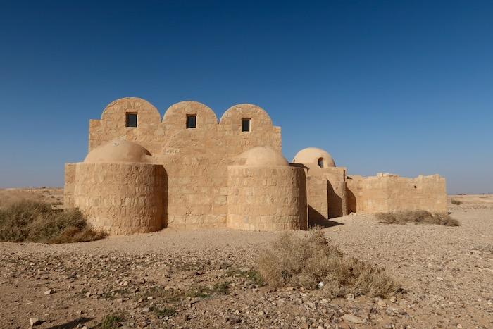 Qasr Amra Castelele desertului 3