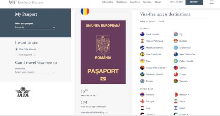 cel mai puternic pasaport 2021 3