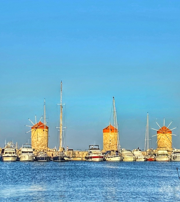 orasul rodos port