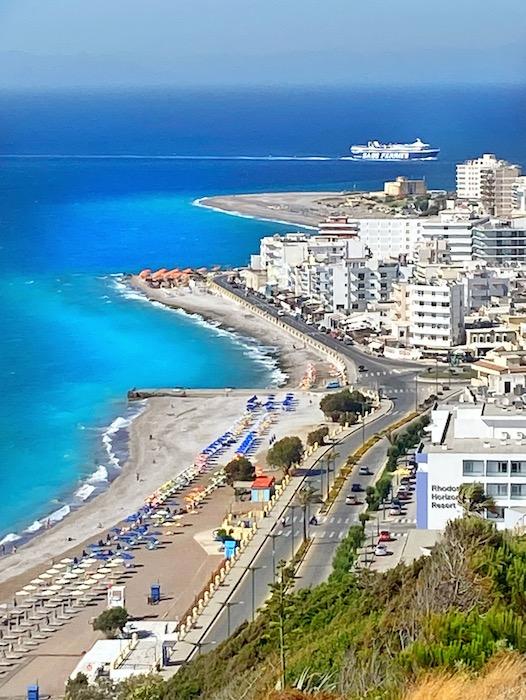 plaja orasul Rodos